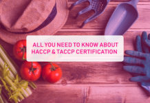 HACCP and TACCP Certification