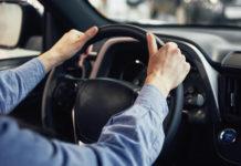 Men Drive a Car